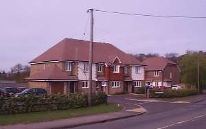 New houses on the site 2003