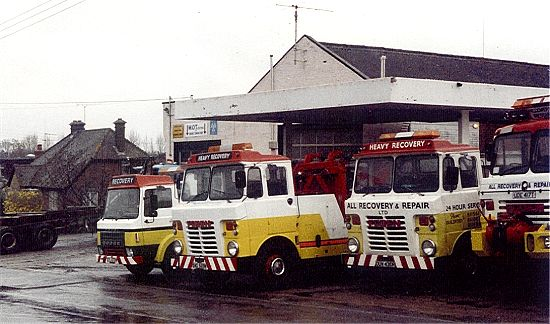 Westwood Lane Garage (All Recovery) 1992