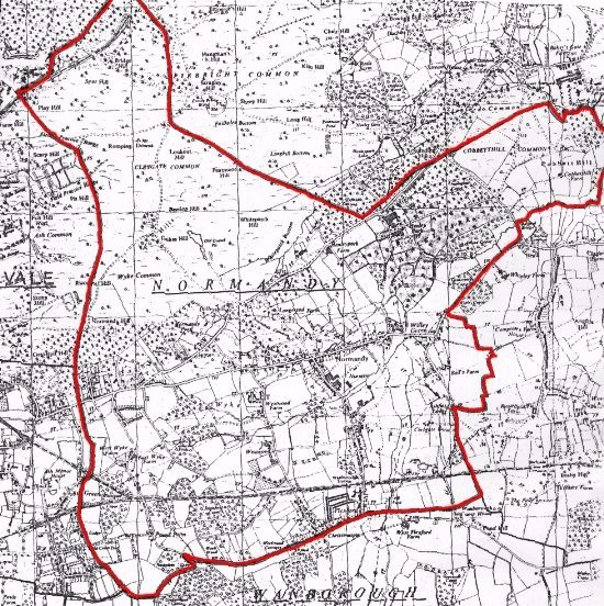 Normandy Parish Boundary