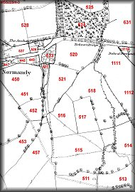 Normandy Village Map 3