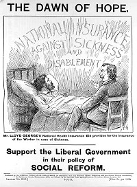 Leaflet promoting the National Insurance Act 1911