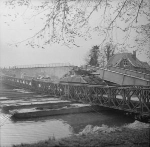 Bailey bridge over the Dortmund-Ems Canal