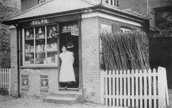 Rolph's Store at Willey Green, about 1918