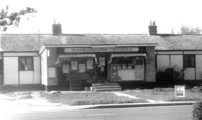 Wanborough Stores, about 1970