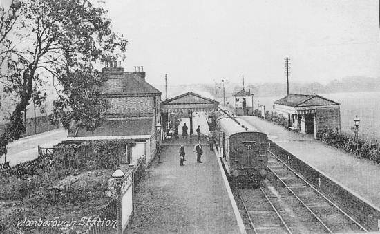 Wanborough Station about 1908
