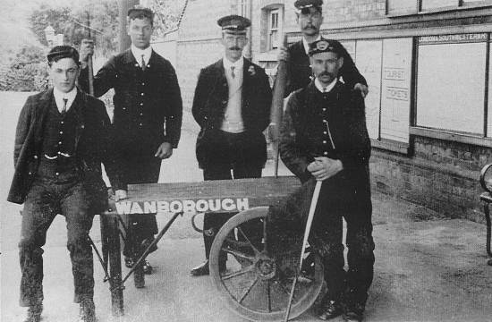 The Staff at Wanborough Station