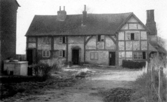 Oldhouse Farm (Tickners), Bailes Lane c1957 - Front View
