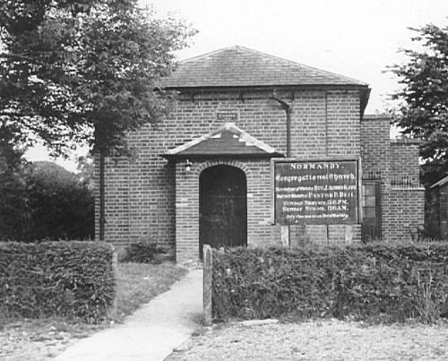 Normandy Congregational Chapel at Willey Green