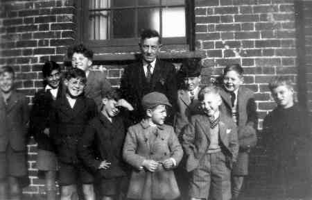 Mr Coleman and Sunday School 1950