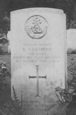 Headstone - R. Hammond