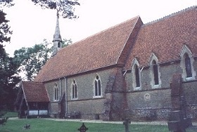 St Andrew Grafham From the southeast