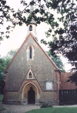St Andrew Grafham From the west