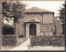 Congregational Chapel at Willey Green