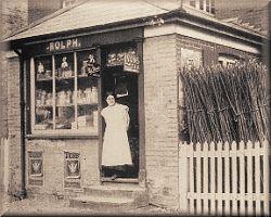 Rolph's Store at Willey Green about 1918